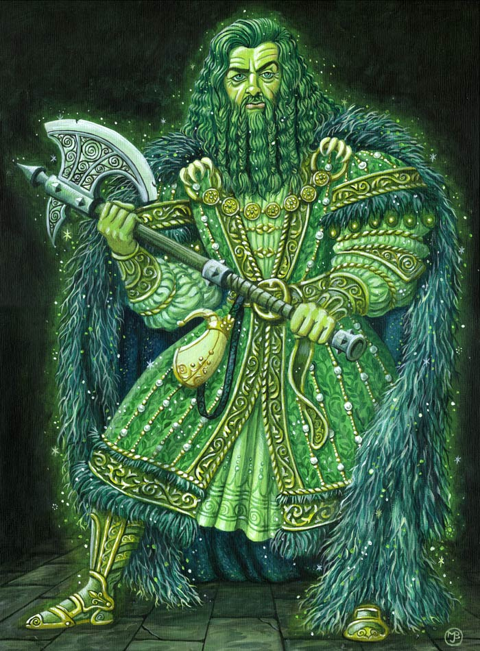 Sir gawain and the green knight essays